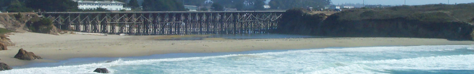 MendocinoFun.com: Pudding Creek Trestle and Beach