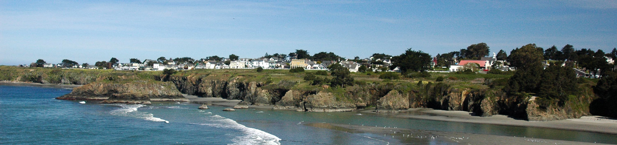 MendocinoFun.com: Mendocino Bay, Headlands, and Village
