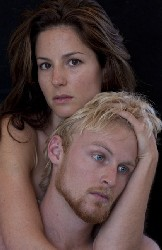 Guest actors Lucas Burns as Orpheus and Veronica Krestow as Eurydice