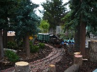 Train Layout at the Botanical Gardens #6