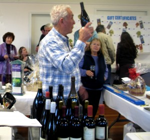 You'll get to taste wines and have  a chance to buy great wines at auction.